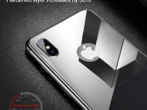 Folie sticla securizata spate Iphone X
