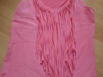 Bluza franjuri corai