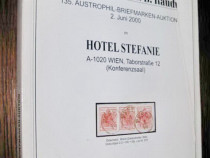 9Catalog filatelie casa licitatii h.d.rauch austrophil 2000.