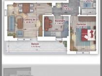 Apartament 2 camere decomandat Metrou 1 Decembrie 1918