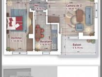 Apartament 2 camere decomandat Titanul Nou