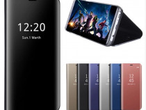 Husa Stand Mirror Samsung A6 / A6 Plus