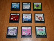 Jocuri originale Nintendo DS Lite 9 bucati