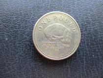 1 pound 2013 Gibraltar extrem de rara autentica