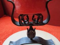 Cadou inedit -sfesnic vintage, fier forjat,deosebit,germany