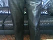 Pantaloni, dama, din piele, masura 46