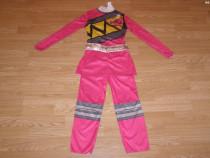 Costum carnaval serbare power rangers ninja de 4-5-6 ani