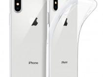 Iphone x xs xr xs max - husa ultra slim din silicon transpar