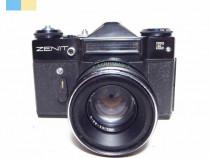 Zenit E cu obiectiv Helios-44-2 58mm f/2 montura M42