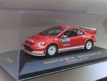 Macheta Peugeot 307 WRC Raliu Suediei 2005 - IXO 1/43 rally