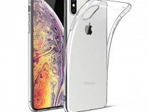 Pachet Husa Silico Folie Sticla Iphone X XS 10 XR XS MAX