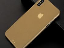 Husa Ultra Slim 0.3mm Plastic Mat - Iphone 7 8 10 X XS