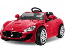 Kinderauto Maserati Kids 2x 35W PREMIUM, USB, Radio, #Rosu
