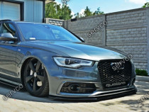 Prelungire tuning bara fata Audi A6 C7 S-line 2012-2014 v2