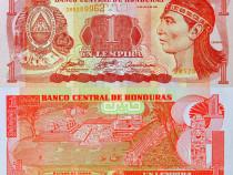Lot 5 bancnote HONDURAS 2010-2016 - UNC
