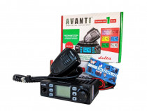 Statie Radio CB AVANTI Delta 4w -> 15W Autosquelch 12v 24v