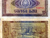 Lot 9 bancnote romania 1966-1998 circulate