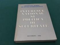 Interes național și politica de securitate/ 1995