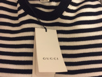 Pullover Gucci navy crew stripes,produs original.