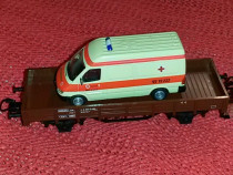 Vagon marfa scara ho - 16.5 mm marklin model 00752 -18