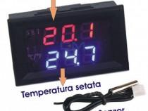 Termostat digital, termoregulator -50/+110 12V regulator tem