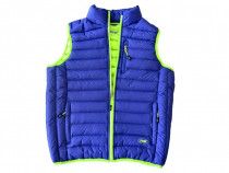 Veste termoizolate albastru-verde