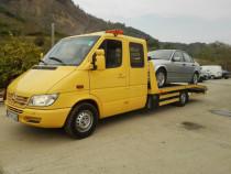 Tractari platforma auto Magurele avariate defecte ieftin