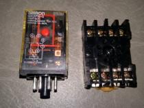 Releu electromagnetic Omron MK2PN-S la 220V 7A cu soclu