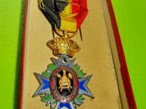 10031-Medalia veche Uniunea/ Asociatia profesionala Belgia.