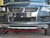 Prelungire lip tuning sport bara fata VW Touareg 7L 06-10 v1