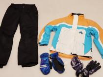 Set combinezon, costum iarna, ski Icepeak + mănuși, nr.140