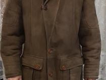 Cojoc barbatesc piele naturala, Shearling Favior