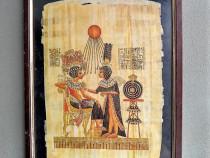 Tablou papirus in rama