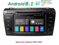Navigatie android Mazda 3 2004 - 2009