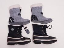 Boots, cizme iarnă, apreschiuri, ghete zăpadă Sorel, nr. 35
