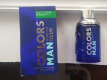 Parfum original(apa de toaleta) Benetton Man Blue