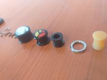 15Expandere/Flash Tunnel/Ear Plug Piercing Cristale Urechi