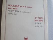 Nocturna in re b major pentru pian suita lll pentru pian
