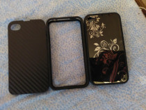 2 huse+bumper iphone 4s