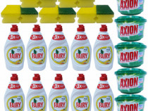 10 x Fairy Sensitive + 5 x Axion Lemon + 5 x Bureti de vase