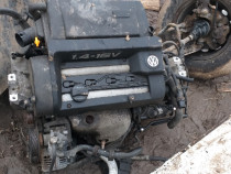 Motor si cutie vw golf 4 1.4 16v