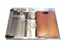 Chiuveta bucatarie inox CookingAid CLIO XL accesorii incluse