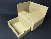 Cutie carton natur CO3, depozitare si transport , 500x300x25