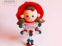 Lyn Swarovski Doll Necklace