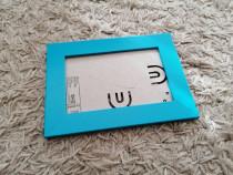 Rama foto bleu poze fotografii 15 x 10 cm cu suport - Noua