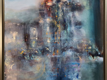 Pictura tablou dim mare inramat vis de vara o kloska