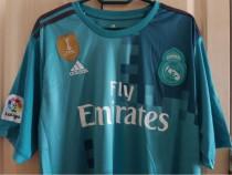 Tricou fotbal verde Real Madrid