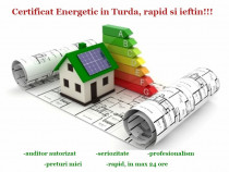 Certificat Energetic Turda , ieftin si rapid !!!