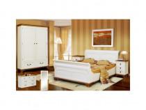 Dormitor lemn masiv-Transport gratuit