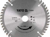Disc circular pentru lemn yato-yt-60905